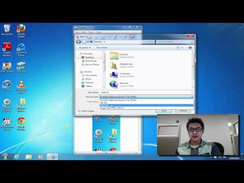 Selective Screen Capture on Windows 7