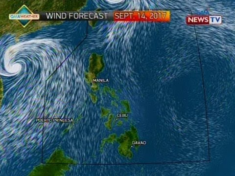 QRT: Weather update as of 5:55 p.m. (Sept. 14, 2017)