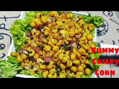 Crispy corn Recipe | Tea Time Snack | Qitchen Delights