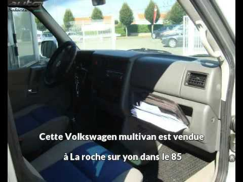 volkswagen multivan occasion visible la roche sur yon pr sent e par vpn vendee youtube. Black Bedroom Furniture Sets. Home Design Ideas