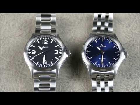 On the Wrist, from off the Cuff: Sinn – 556 I B, Blue Dial Pilot's Watch