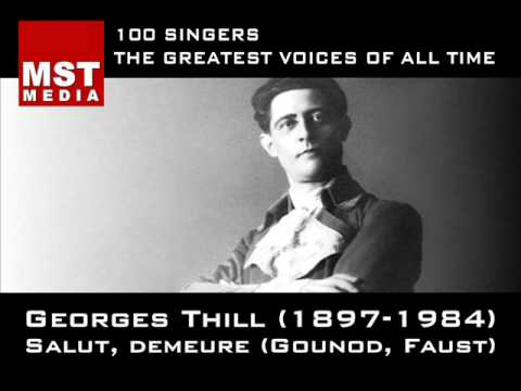 100 Greatest Singers: GEORGES THILL
