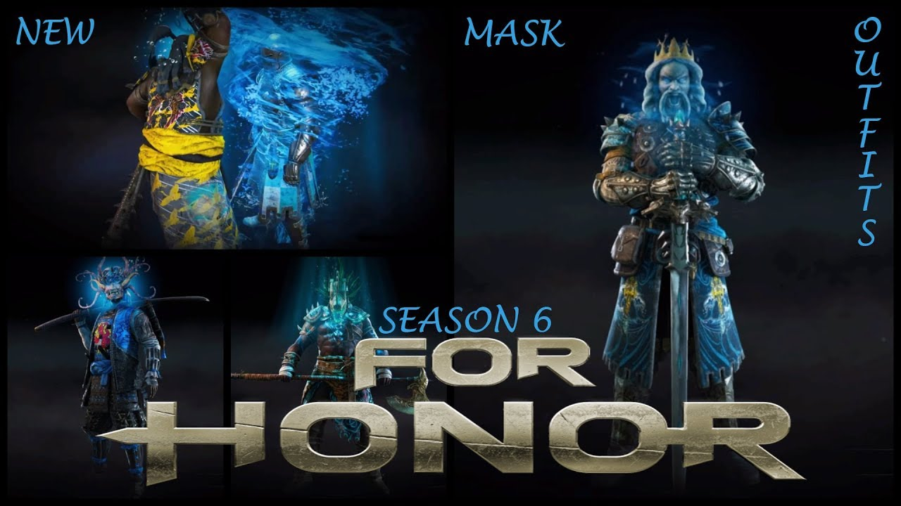 For honor new mask outfit 39 s with execution 39 s season 6 youtube - When is for honor season 6 ...