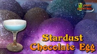Stardust Chocolate Egg Cocktail