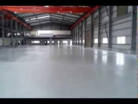 EPOXY防塵地板工程環氧樹脂地板施工0932-518699 - YouTube