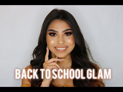 Easy Back To School Drugstore Makeup Tutorial | Brittney Kay