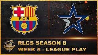 Fc barcelona vs complexity gaming | season 8 rlcs league play week 5