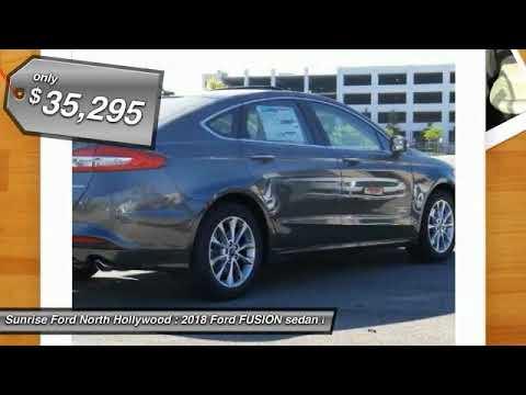2018 Ford FUSION North Hollywood,Los Angeles,San Fernando Valley,Glendale,Burbank M80155
