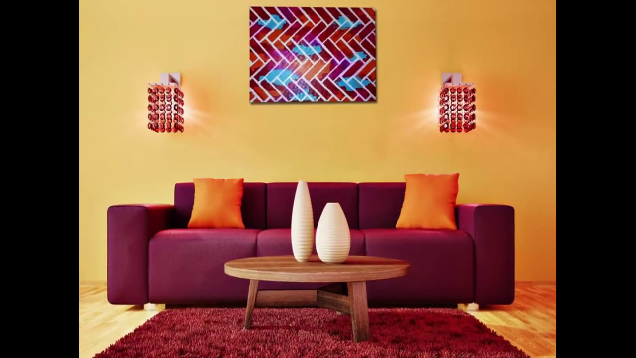 Homebliss: DIY Easy Canvas Wall Art - YouTube