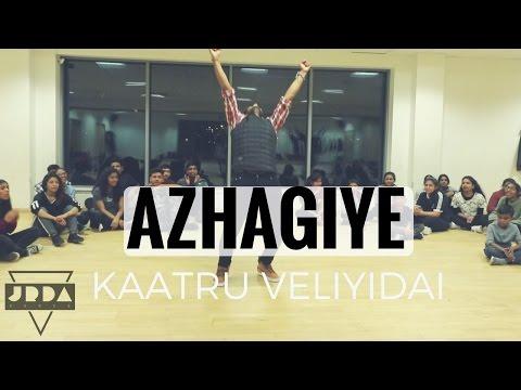 Kaatru Veliyidai - AZHAGIYE | DANCE cover | Mani Ratnam | A.R.RAHMAN| Karthi  @JeyaRaveendran Choreo