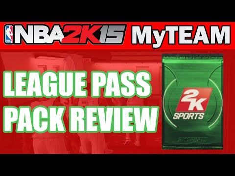 NBA - NBA 2K15 MyTeam Pack Opening - LEAGUE PASS PACK REVIEW | NBA 2K15 MyTeam PS4 Gameplay