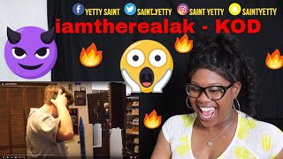 [SHOCKING] Mom reacts to iamtherealak - J. Cole KOD (REMIX) | Reaction