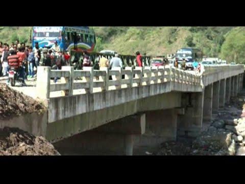 बाढ़ में क्षतिग्रस्त हुए नंगाली पुल की मरमत ना होने से लोगों में रोष