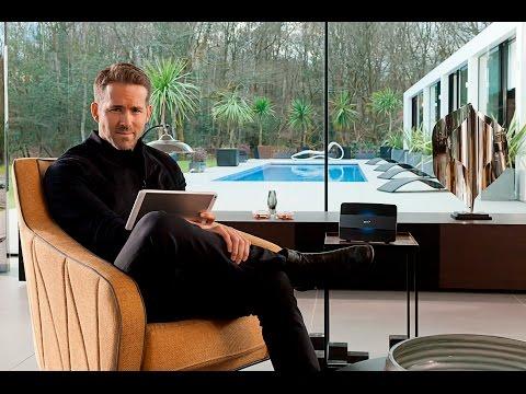 BT Smart Hub Advert with Ryan Reynolds | BT
