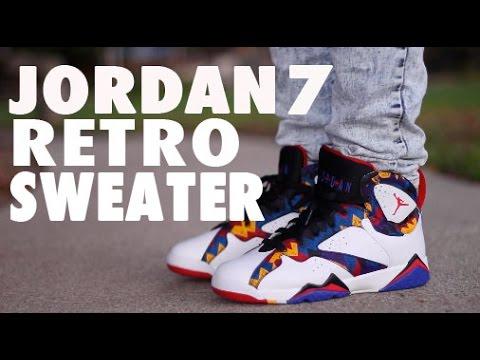 4993ddd3d15105 Air Jordan Retro 7 Nothing But Net