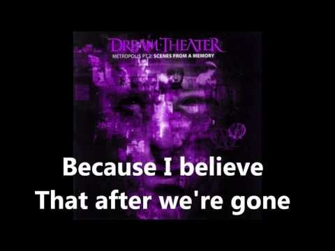 Dream Theater  The Spirit Carries On Lyrics In  HD