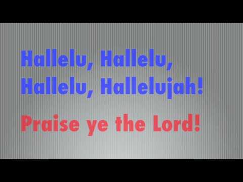 Hallelujah! Praise Ye the Lord!