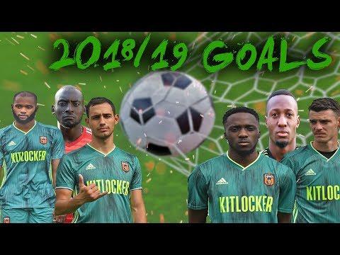 SE DONS   2018/19 GOALS COMPILATION  Sunday League Football