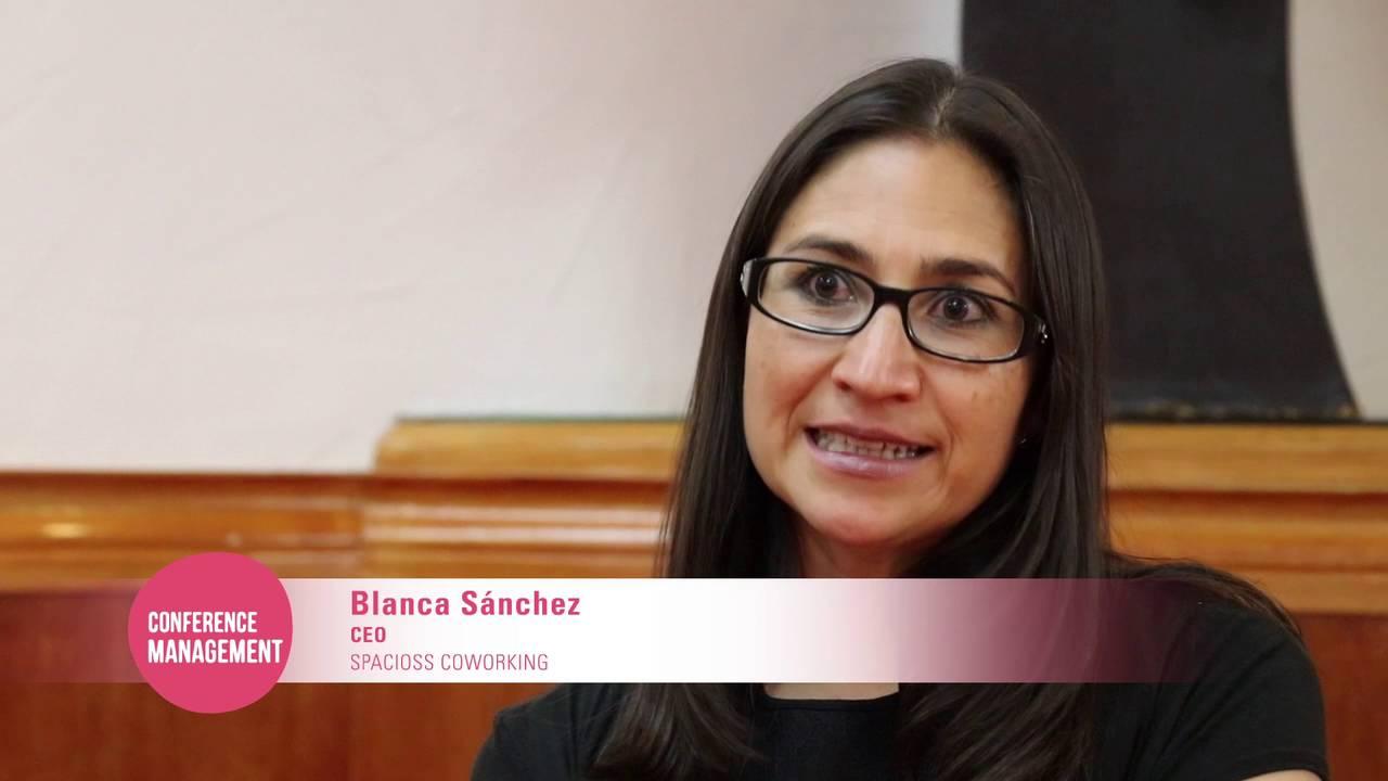 """Blanca Sanchez blanca sánchez ceo de spacioss coworking """"el 1er. coworking para"""