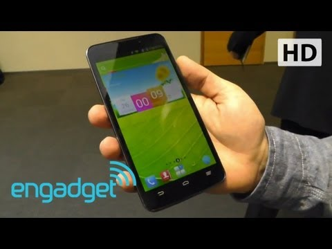 ZTE Grand Memo hands-on at MWC 2013   Engadget