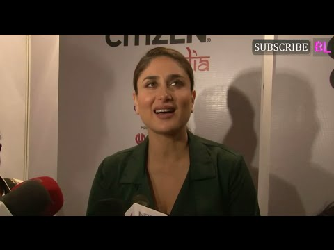 Kareena Kapoor Khan | Global Citizen India Project in style