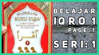 Video BELAJAR IQRO: Mengaji Iqro 1 Seri 1 - Cara Cepat Belajar Membaca Al-Quran untuk Pemula (MUDAH) download MP3, 3GP, MP4, WEBM, AVI, FLV November 2018