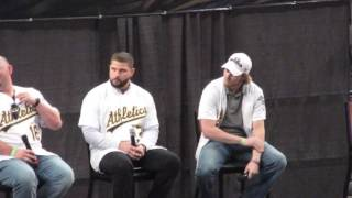 Josh Reddick, Billy Butler, Yonder Alonso and Andrew Lambo Q&A at 2016 A