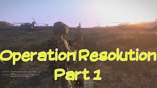 ARMA 3 MULTIPLAYER GAMEPLAY, Arma Air Assault Operation Resolution PART 1