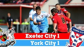 Exeter v York - League Two Highlights 2014/2015