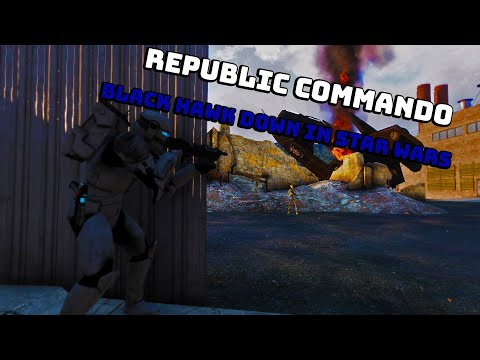 Arma 3 Star Wars - Republic Commando Mission and LAAT Gunship Crash |