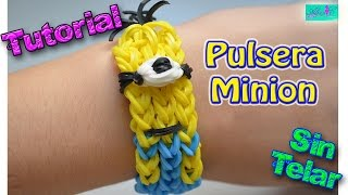 Repeat youtube video ♥ Tutorial: Pulsera Minion (sin telar) ♥