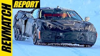 Mid Engine Corvette Reveal - RevMatch Report - Weekly Car News