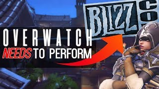 Overwatch NEEDS to do well at Blizzcon 2018