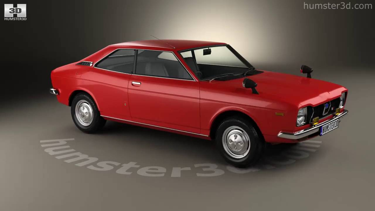 Subaru leone gsr 1972 3d model by humster3d youtube subaru leone gsr 1972 3d model by humster3d vanachro Images