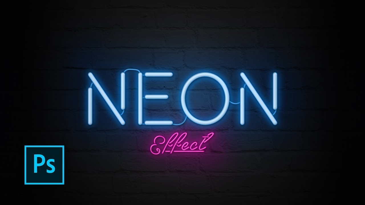 How to Create Neon Text Effect with Photoshop - Photoshop ...
