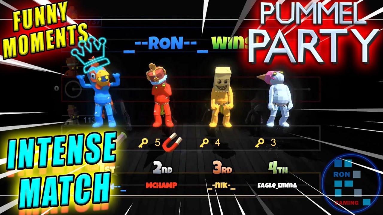 Pummel Party | Someone Was About To Cry On RON's Victory Over Them