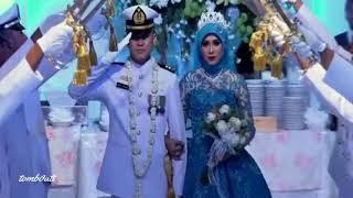sholawat YAHABIBAL QOLBI - pernikahan TNI yang bikin Baper