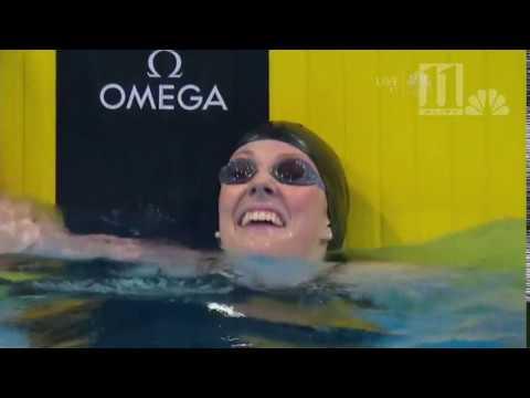Olympic swimmer Missy Franklin becomes a Georgia Bulldog!