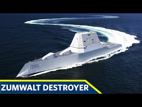 How The US Navy Zumwalt Class Destroyer Works