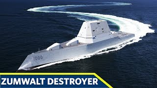 How the US Navy Zumwalt Class Destroyer Works