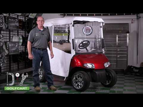 "EZGO RXV ""Touring"" Golf Cart Enclosure 