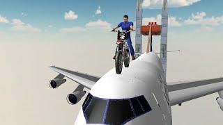 Bike Sky Stunt - Bike Stunt Game - Android Gameplay - Bike Games To Play