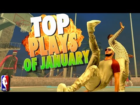 TOP PLAYS OF JANUARY - NBA 2K17 Highlights