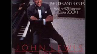 John Lewis : J. S. Bach, preludes & fugues : Vol.3