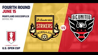 2016 Lamar Hunt U.S. Open Cup - Fourth Round: DC United vs. Fort Lauderdale Strikers