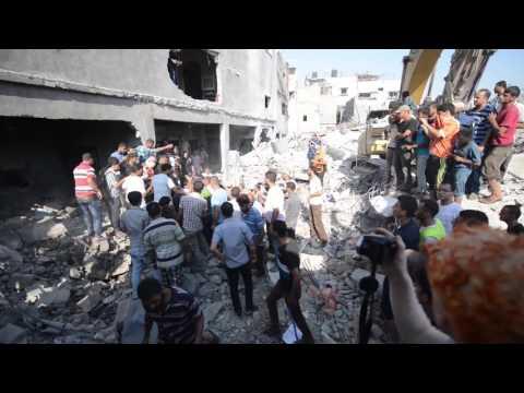 Gaza Strip, 2014 ___ (RAW FOOTAGE)