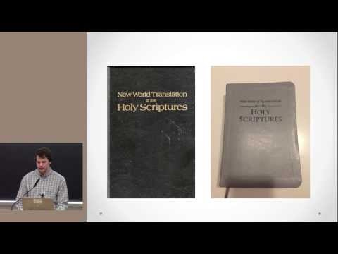 Jehovah's Witnesses: An In depth Look (Presenter: Max Elfelt)