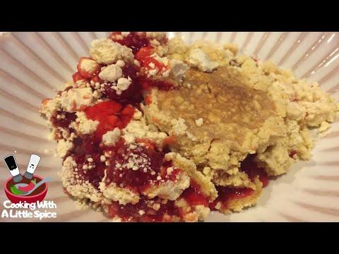 How to Bake a Cherry Dump Cake