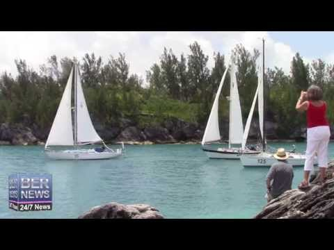 Bermuda One-Two Yacht Race 2nd Leg Start, June 18 2015