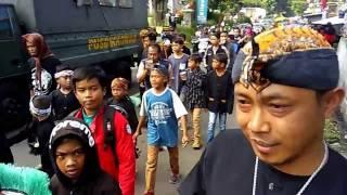 Keren, Tumpah Ruah Di Karnaval Hut Gudangkahuripan Ke 38, Kec Lembang, Kab.bandu